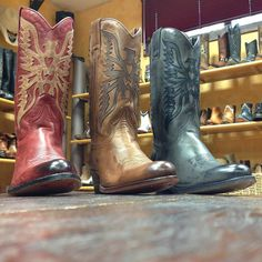 Try to choose only one...impossible!  #sendra #sendraboots #highquality #handmadeboots #madeinspain #loveboots #fashionboots #fashion #design #trend #awesome #amazing #leather #authentic #cowboy #cowgirl #western #style #nature #colorboots #colorful #colour