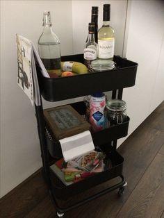 Creatief met de Ikea kitchen cart