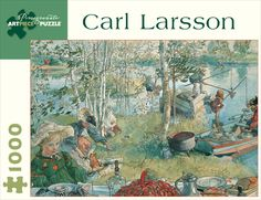 Carl Larsson - 1000pc Jigsaw Puzzle by Pomegranate