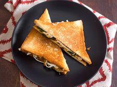 Cemita Grilled Cheese Sandwich