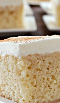 Tres Leches Cake- def making for craigs birthday cake- he loves these