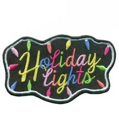 Nothing puts you in a holiday mood more than seeing holiday decorations and lights. Take a light tour with your Girl Scout troop and give them this Holiday Lights patch to remember the special time. Available at MakingFriends.com