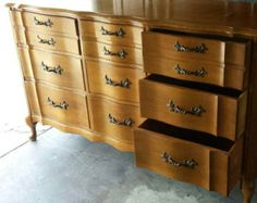 Vintage French Provincial Dresser by Permacraft