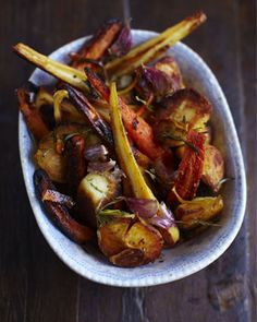 Jamie Oliver roast vegetables