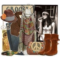 """""""Groovy!"""" by sourcat on Polyvore"""