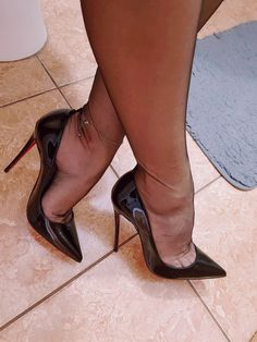 OneStepForth serves a unique high heel shoe taste. We cater to the high heel aficionado's needs with a spectrum of colors. Do visit regularly as we often have new heels. Sexy High Heels, Sexy Legs And Heels, Hot Heels, High Heels Stilettos, Nylons And Pantyhose, Nylons Heels, Stockings Heels, Stockings Lingerie, Peep Toes