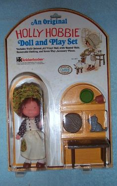 Holly Hobbie Doll and Play Set Carrie
