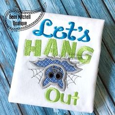 Let's Hang Out Applique - 4 Sizes! | What's New | Machine Embroidery Designs | SWAKembroidery.com Beau Mitchell Boutique