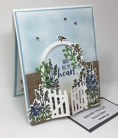 Stampin' Up! grace's garden