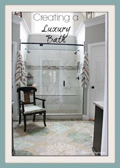 A bathroom renovation increases the value of your home and offers a great return on your investments of time and money. For the homeowner who prefers a more upscale and elegant retreat, the possibilities are endless, and the cost doesn't have to be prohibitive! Read on as eBay shares inspiration for creating a luxury bath in your own home.