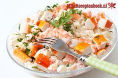 Krab salade recept