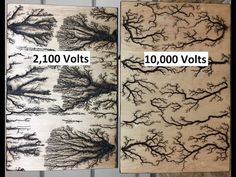 Lichtenberg Device For Fractal Wood Burning - YouTube
