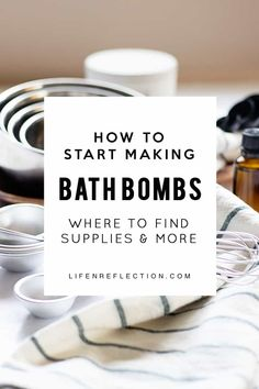 to Start Making Bath Bombs Check out these easy tips & tricks to start making bath bombs!Check out these easy tips & tricks to start making bath bombs!