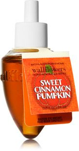 Sweet Cinnamon Pumpkin Wallflowers Fragrance Refill - Home Fragrance 1037181 - Bath & Body Works