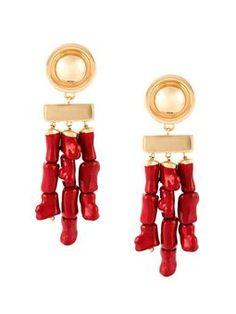 bamboo style earrings