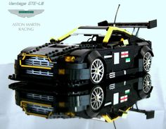 Aston Martin GTE in Lego http://www.aston-martin.com/2012/09/07/you-can-make-anything-out-of-legos-including-aston-martins/