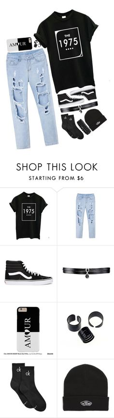 """""""The 1975"""" by kiranightmcneill on Polyvore featuring Vans, Fallon, Calvin Klein and Bling Jewelry"""