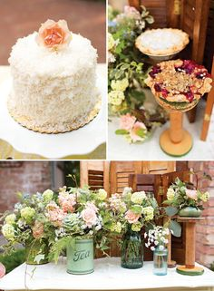 whimsical vintage garden wedding inspiration and ideas