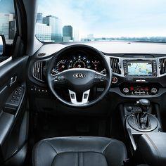 A beautifully designed interior. Kia Sportage. http://www.kia.com/us/en/vehicle/sportage/2015/experience?story=hello&cid=socog