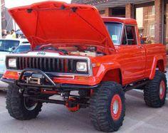 Mostly jeeps jeep full size Jeep Suv, Jeep Pickup, Jeep Truck, 4x4 Trucks, Diesel Trucks, Lifted Trucks, Cool Trucks, Chevy Trucks, Mini Trucks