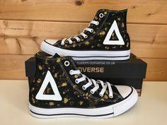 Make Your Shoes Converse Customized Adulte - chaussures coutume (produit artisanal) Bubble - size EU 46 VHnvPnnGXY