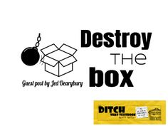 Destroy the box - Ditch That Textbook Dig Deep, Thinking Outside The Box, Creativity And Innovation, Words To Describe, Teaching Strategies, Creative Teaching, Wise Quotes, Read Aloud, Textbook