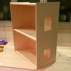 Рассказ о том, как построить #roombox кукольный дом