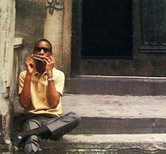 Timeless Cool: Stevie Wonder of Saginaw, MI.