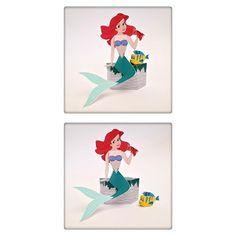 O topo do bolo da Inês a princesa da Disney que ela mais gosta a Ariel! E qual de nós não gosta de dar aos nossos filhotes a magia no seu dia de anos? Com os topos de bolo personalizados conseguimos isso e tambémfazer as delícias dos amiguinhos!!! #kids #party #cake #ariel #mermaid #partykit