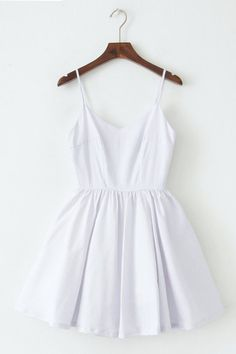 Dotted Strap Cute Retro Sundress