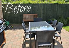 Outside Living : Improving an outside space on a budget