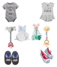 """Baby Sean and Baby Angel (in my fanfic)"" by grace-hobson on Polyvore featuring House of Fraser and Carter's"