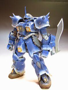 "MG 1/100 Gouf Custom ""Efreet Enigma"" Custom Build - Gundam Kits Collection News and Reviews"