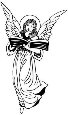 Free Victorian Clip Art is available here, just for you! Angel Clipart, Coloring Books, Coloring Pages, Free Adult Coloring, Angel Drawing, Christmas Graphics, Black And White Drawing, Baby Art, Angel Art