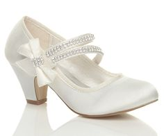 ivory mary jane bridal shoes | ... , Shoes & Accessories > Kids' Clothes, Shoes & Accs. > Girls' Shoes