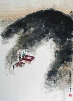Petrin, Prague Prague, Painting, Art, Art Background, Painting Art, Kunst, Paintings, Performing Arts, Painted Canvas