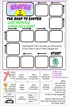 Holy Week - The Road to Easter Activity