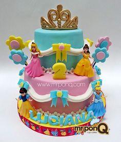 torta princesas disney.mr.ponQ