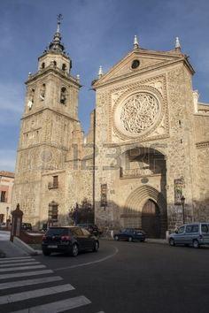 Iglesia de Santa María la Mayor, La Colegial de Talavera de la Reina. Toledo.