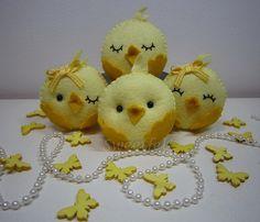 ♥♥♥ Viemos desejar a todos uma Páscoa muito feliz e docinha! by sweetfelt \ ideias em feltro