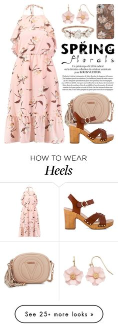 """Think Pink Flower Power! 3217"" by boxthoughts on Polyvore featuring Marc Jacobs, Mario Valentino, Zensu, LC Lauren Conrad and Kataoka"