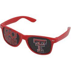 Texas Tech Red Raiders Ladies Go Design Sunglasses - Scarlet