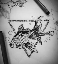 Image via We Heart It #ink #inked #tattoo #Tattoos #fishtattoo #tatouages #inkedup #tatouage #madameinked