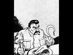 Political Cartoon of Stalin during Winter War times