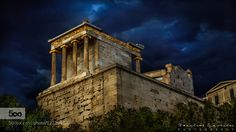 Temple of Athena Nike Nike means victory in Greek and Athena was worshipped in…