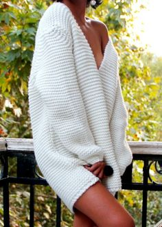 On our days off, I love lounging in large sweaters in the morning with him, sipping coffee and making love all day.