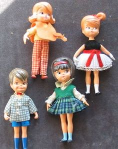 Hasbro Dolly Darlings - I had the little boy and the prissy girl with gloves.