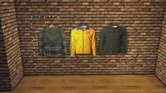 CC FOR SIMS 4: MEN'S WARDROBE PART 3