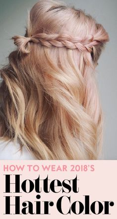 Bronde, no more. #trendyhaircolors #newhaircolors #haircolorinspiration