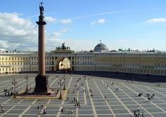 Palace Square  St Petersburg (Russia)